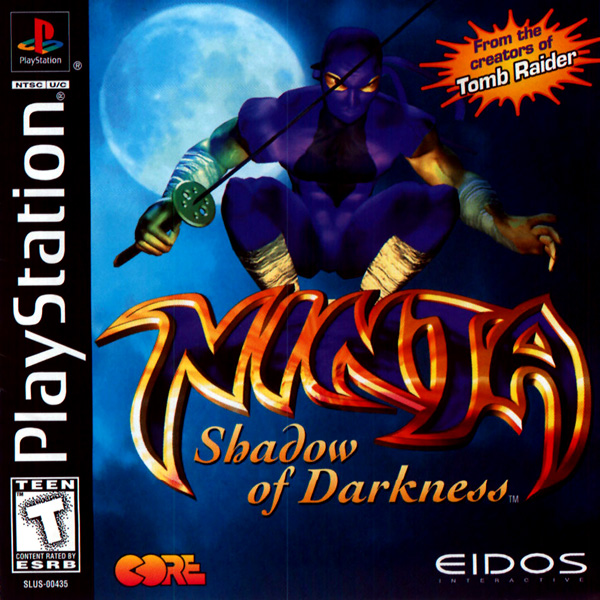 Ninja - Shadow of Darkness Sony PlayStation cover artwork