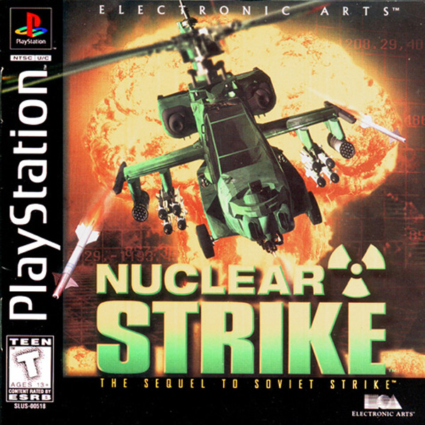 Nuclear Strike Sony PlayStation cover artwork