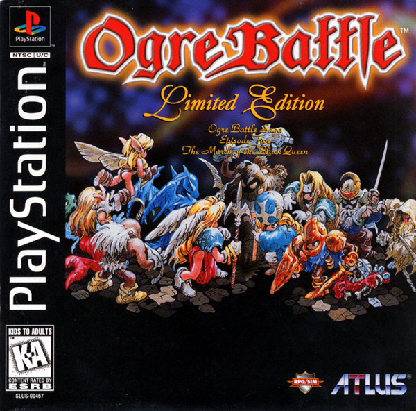 Ogre Battle - Limited Edition Sony PlayStation cover artwork