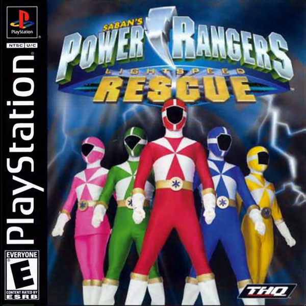 Power Rangers - Lightspeed Rescue Sony PlayStation cover artwork
