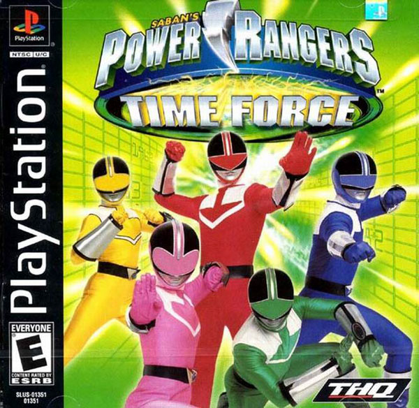 Power Rangers - Time Force Sony PlayStation cover artwork