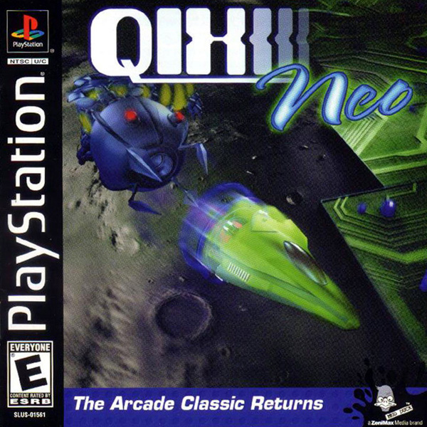 Qix Neo Sony PlayStation cover artwork