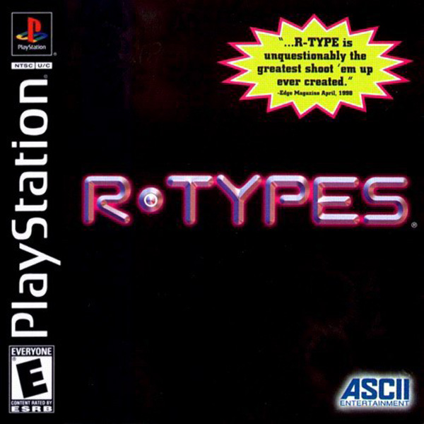 R-Types Sony PlayStation cover artwork