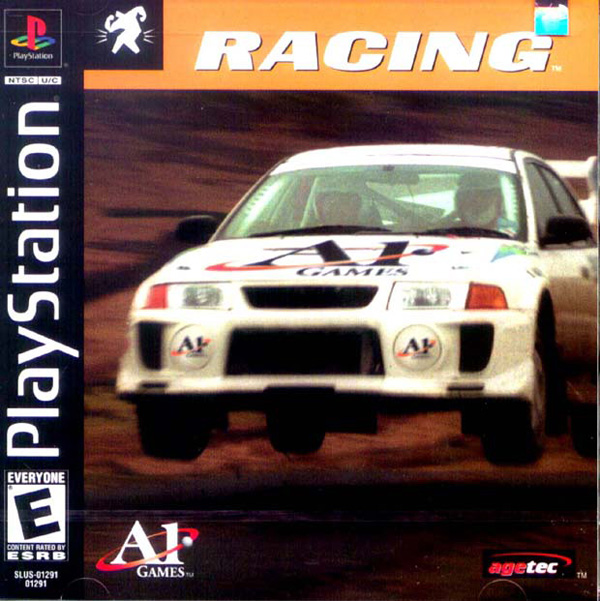 Racing Sony PlayStation cover artwork
