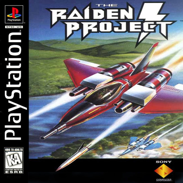 Raiden Project, The Sony PlayStation cover artwork