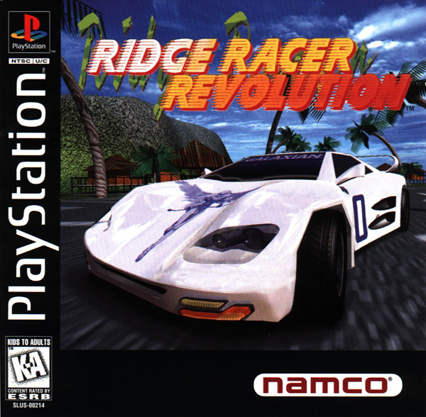 Ridge Racer Revolution Sony PlayStation cover artwork