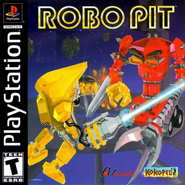 Robo Pit Sony PlayStation cover artwork