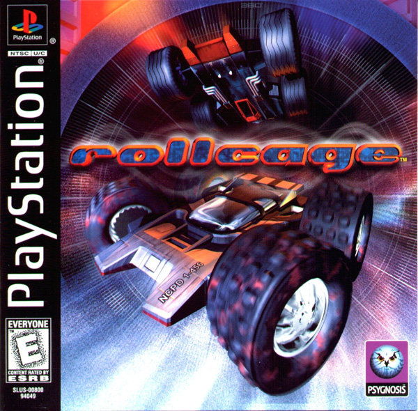 Rollcage Sony PlayStation cover artwork