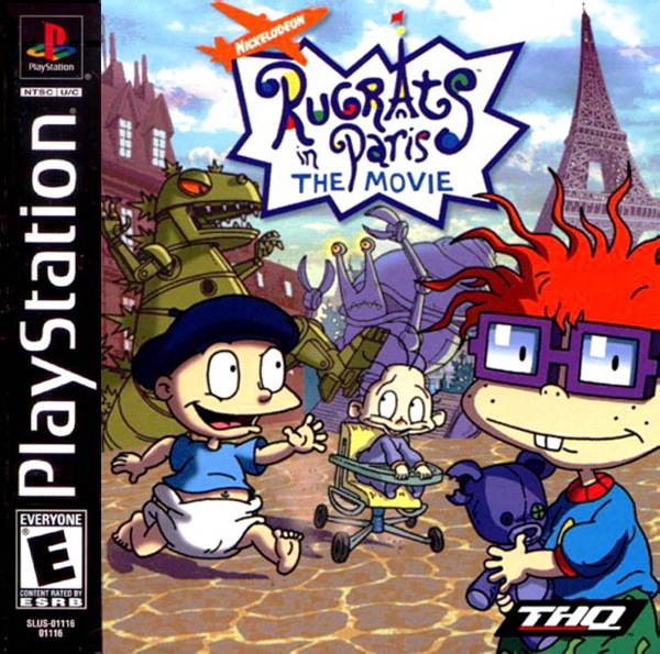 Rugrats in Paris - The Movie Sony PlayStation cover artwork