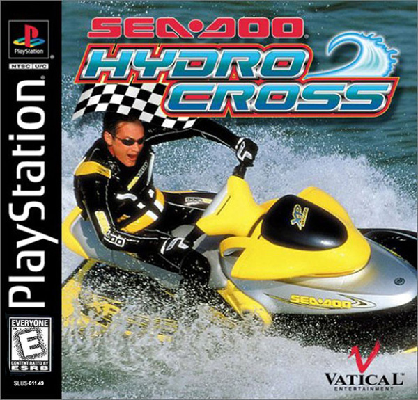 Sea-Doo Hydro Cross Sony PlayStation cover artwork