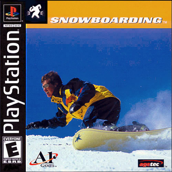 Snowboarding Sony PlayStation cover artwork