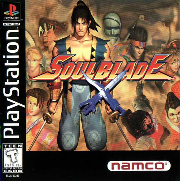 Soul Blade Sony PlayStation cover artwork