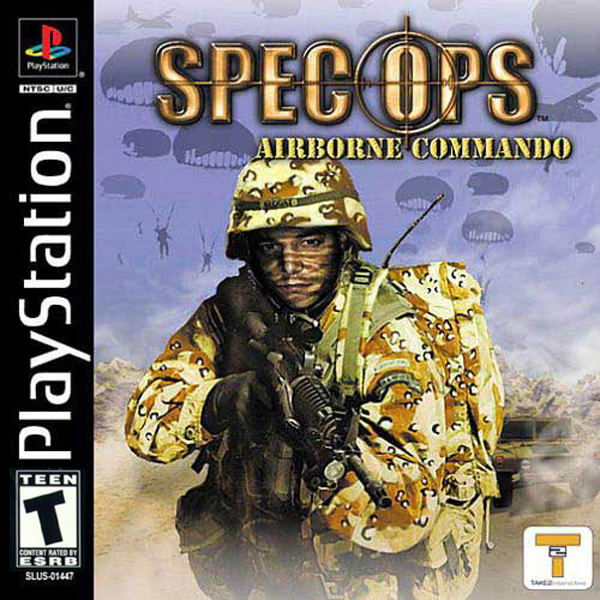 Spec Ops - Airborne Commando Sony PlayStation cover artwork