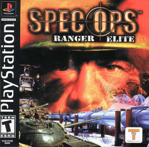 Spec Ops - Ranger Elite Sony PlayStation cover artwork