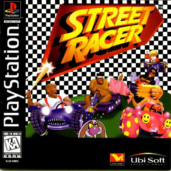 Street Racer Sony PlayStation cover artwork