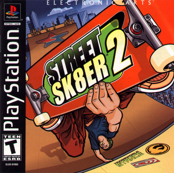 Street Sk8er 2 Sony PlayStation cover artwork