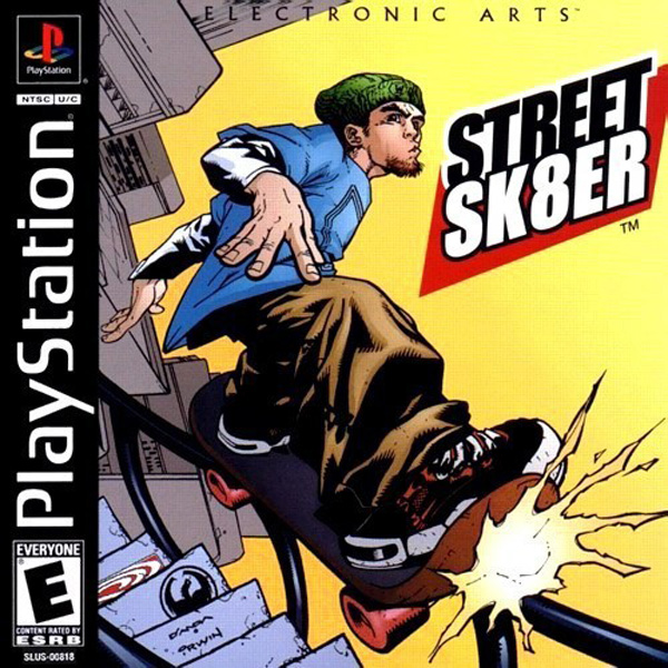 Street Sk8er Sony PlayStation cover artwork