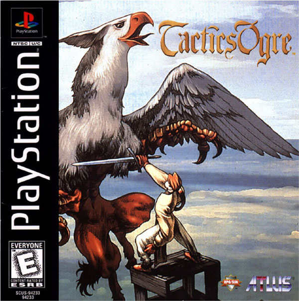Tactics Ogre - Let Us Cling Together Sony PlayStation cover artwork