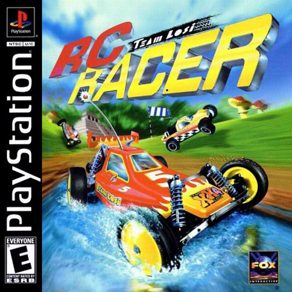 Team Losi RC Racer Sony PlayStation cover artwork