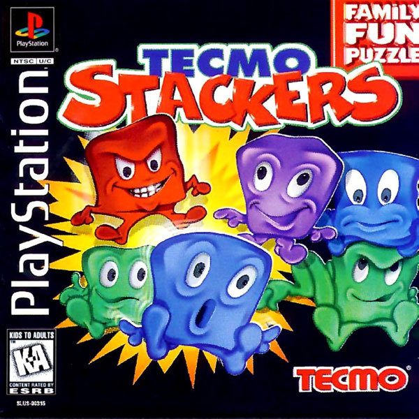 Tecmo Stackers Sony PlayStation cover artwork