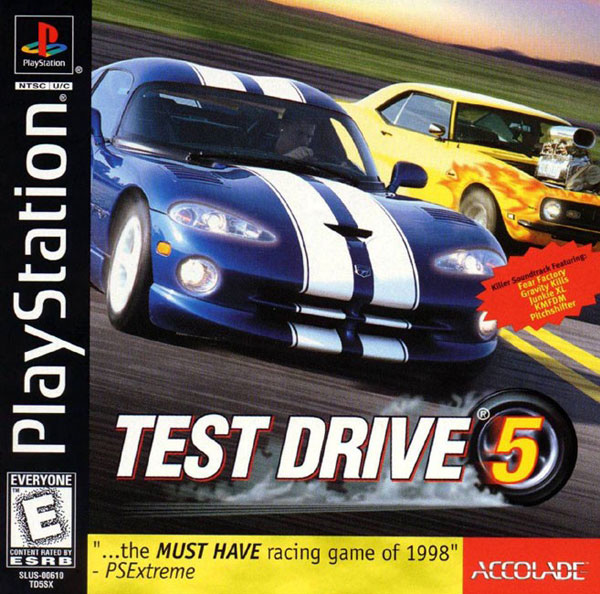 Test Drive 5 Sony PlayStation cover artwork