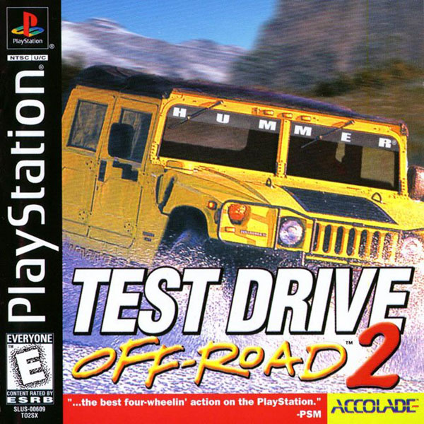 Test Drive Off-Road 2 Sony PlayStation cover artwork