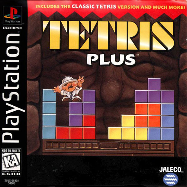 Tetris Plus Sony PlayStation cover artwork