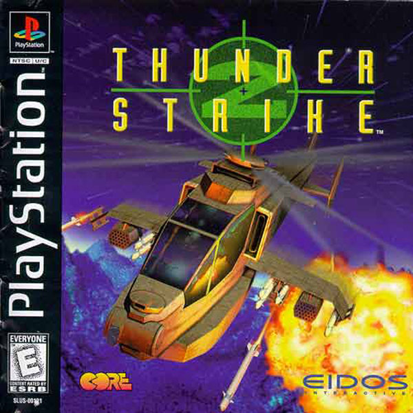 Thunder Strike 2 Sony PlayStation cover artwork