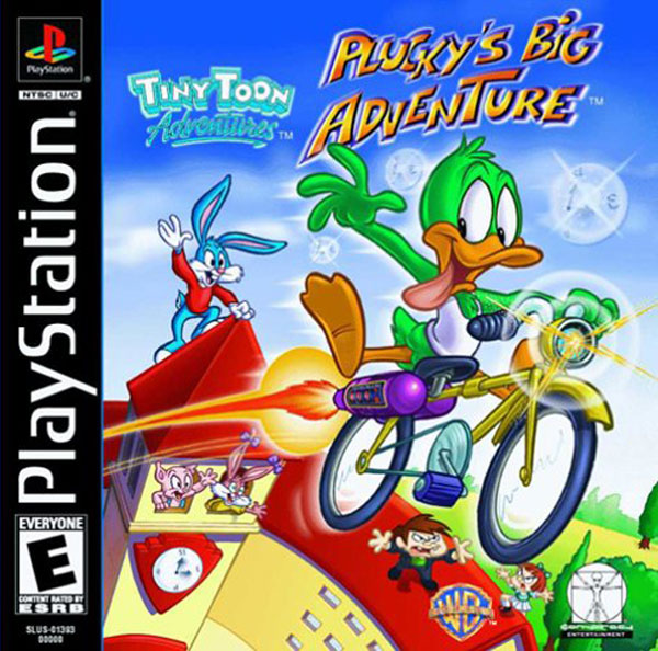 Tiny Toon Adventures - Plucky's Big Adventure Sony PlayStation cover artwork