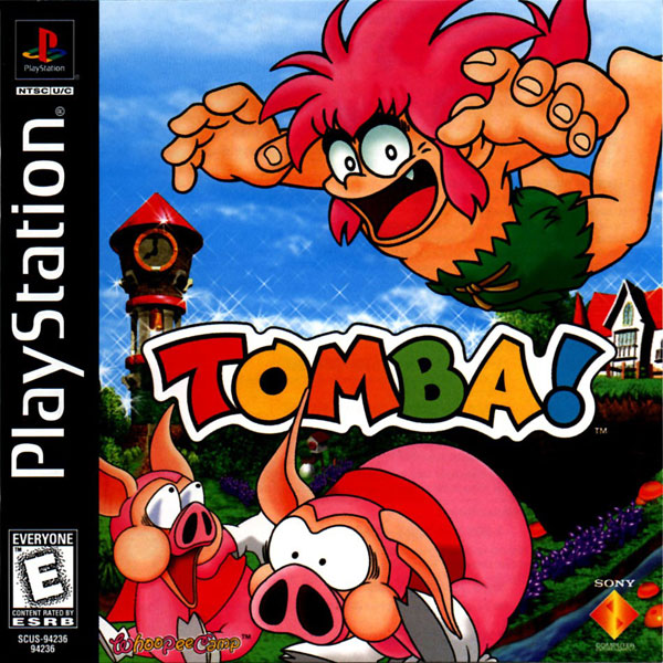 Tomba ! Sony PlayStation cover artwork