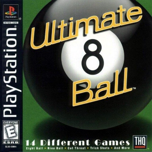 Ultimate 8 Ball Sony PlayStation cover artwork