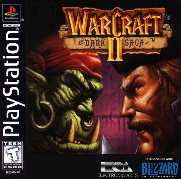 sony playstation 1 games. play warcraft ii - the dark saga sony playstation online playstation 1 games