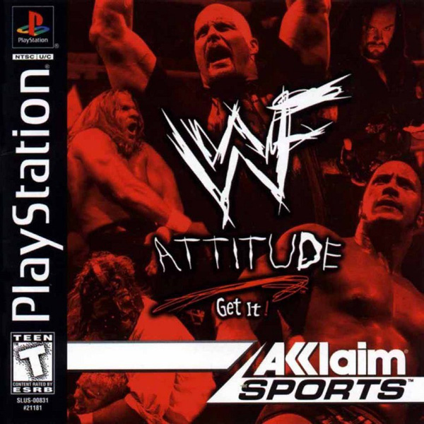 WWF Attitude Sony PlayStation cover artwork
