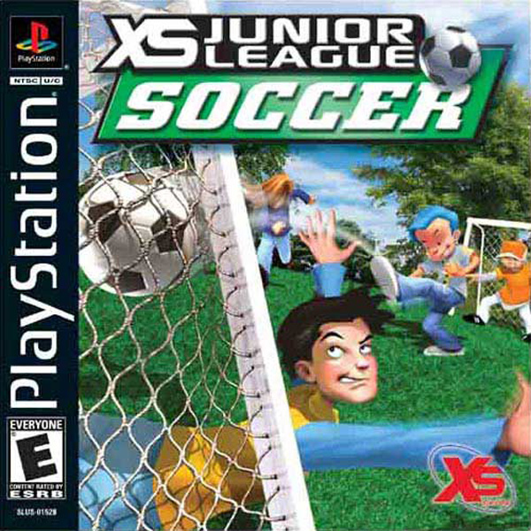 XS Junior League Soccer Sony PlayStation cover artwork