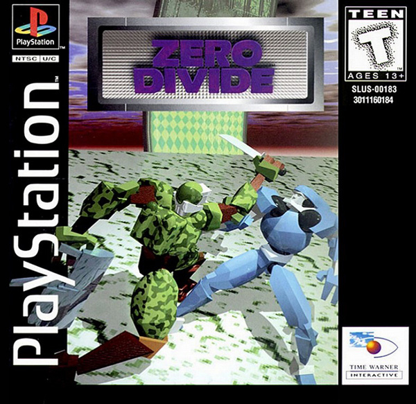 Zero Divide Sony PlayStation cover artwork