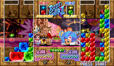 Play Super Puzzle Fighter Ii Turbo Capcom Cps 2 Online