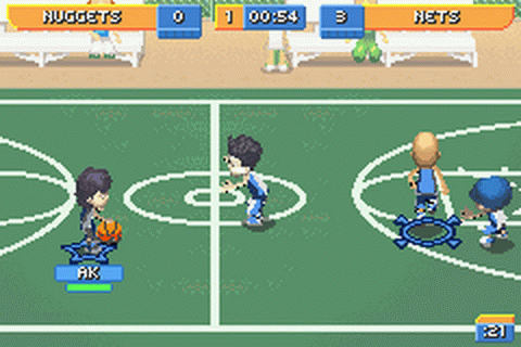 Backyard Sports   Basketball 2007 Ingame Screenshot