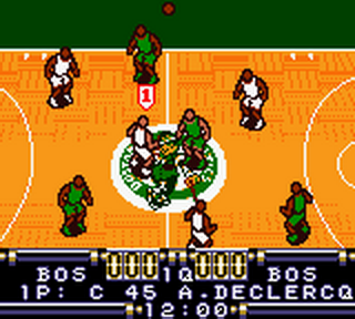 Play NBA In the Zone - Nintendo Game Boy Color online