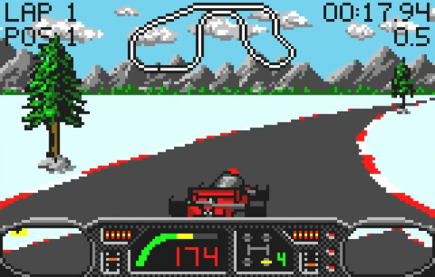 Checkered Flag ingame screenshot
