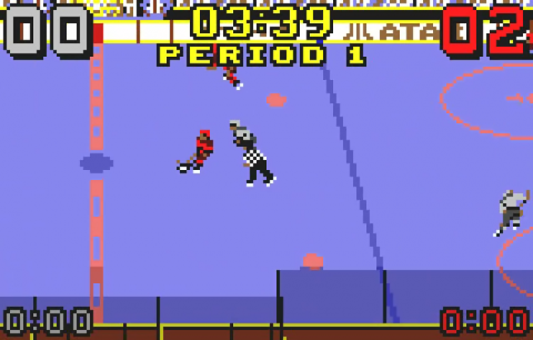 Hockey ingame screenshot