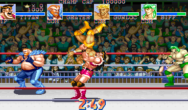 Muscle Bomber Duo: Ultimate Team Battle ingame screenshot
