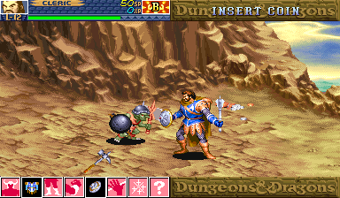 Dungeons & Dragons : Shadow over Mystara ingame screenshot