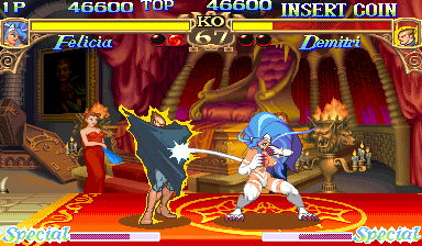 Darkstalkers : The Night Warriors ingame screenshot
