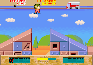 Alex Kidd : The Lost Stars ingame screenshot