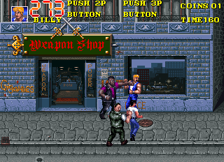Double Dragon 3 - The Rosetta Stone ingame screenshot