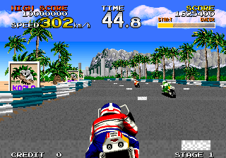Racing Hero ingame screenshot
