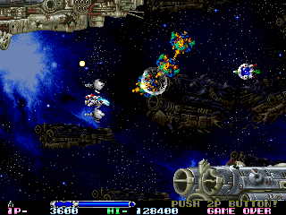 R-Type Leo ingame screenshot