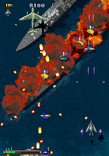 Strikers 1945 III : Strikers 1999 ingame screenshot