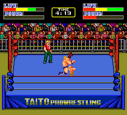 Champion Wrestler ingame screenshot