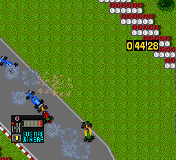 F1 Circus '92 - The Speed of Sound ingame screenshot